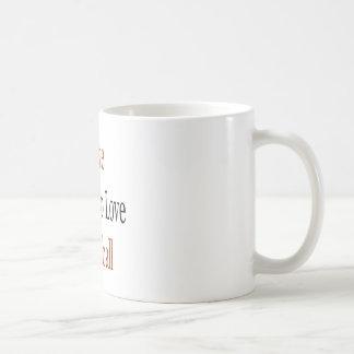 Amo a los individuos que aman baloncesto taza de café