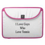 Amo a los individuos que aman tenis funda para macbooks