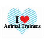 Amo a los instructores animales postal
