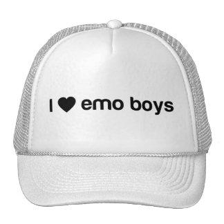 Amo a los muchachos de Emo Gorro De Camionero