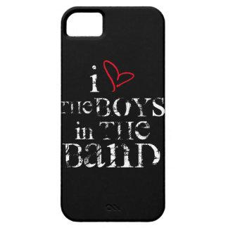 Amo a los muchachos en la banda funda para iPhone SE/5/5s