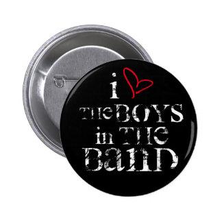 Amo a los muchachos en la banda pin