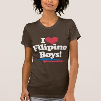 Amo a los muchachos filipinos - blanco playera