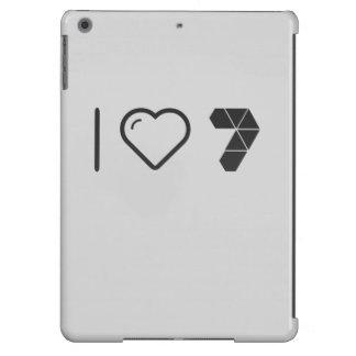 Amo a los paquetes funda para iPad air