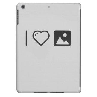 Amo a los partes movibles funda para iPad air