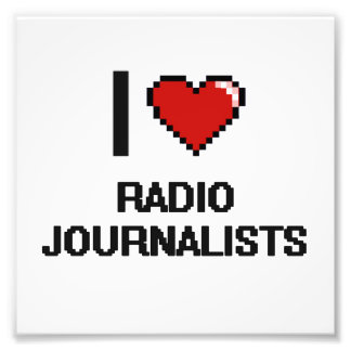 Amo a los periodistas de radio fotografías