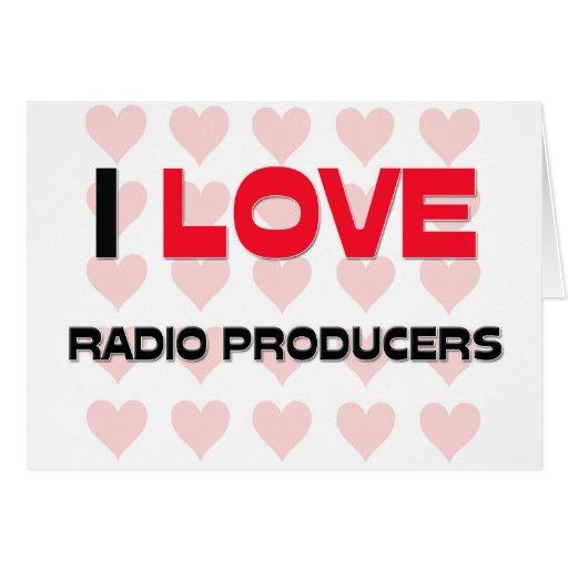 AMO A LOS PRODUCTORES DE RADIO TARJETA