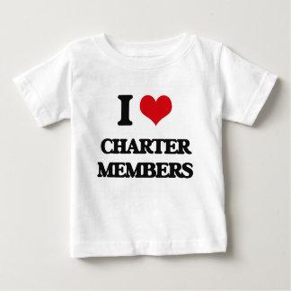 Amo a los socios fundadores tshirt
