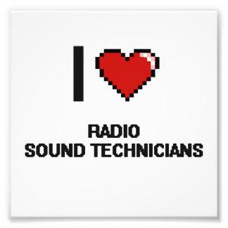 Amo a los técnicos sanos de radio fotografías