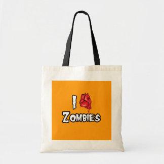 AMO a los ZOMBIS - Halloween - png Bolsa