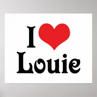 Amo a Louie Póster