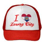 Amo a Lowry+Ciudad, Missouri Gorro