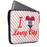 Amo a Lowry+Ciudad, Missouri Manga Computadora