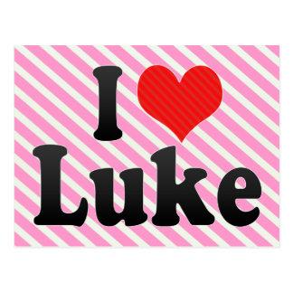 Amo a Lucas Tarjeta Postal