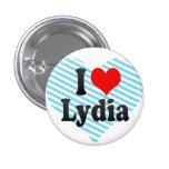 Amo a Lydia Pin Redondo 2,5 Cm