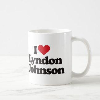 Amo a Lyndon Johnson Taza De Café