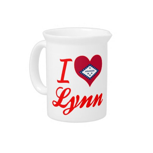 Amo a Lynn, Arkansas Jarra De Beber