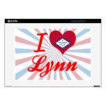Amo a Lynn, Arkansas Portátil Calcomanía