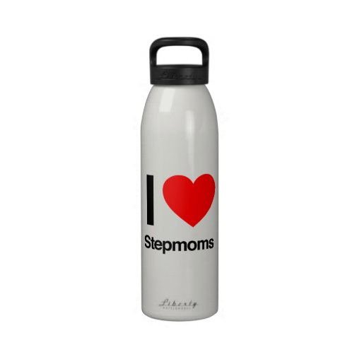 amo a madrastras botella de beber