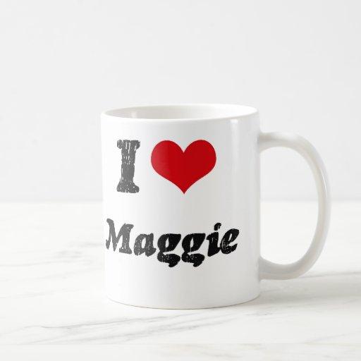 Amo a Maggie Taza De Café