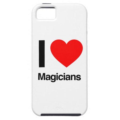amo a magos iPhone 5 fundas