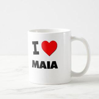 Amo a Maia Taza De Café
