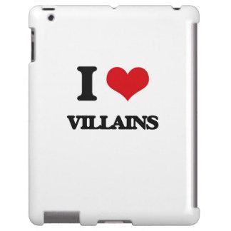 Amo a malvados funda para iPad