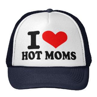 Amo a mamáes calientes gorras
