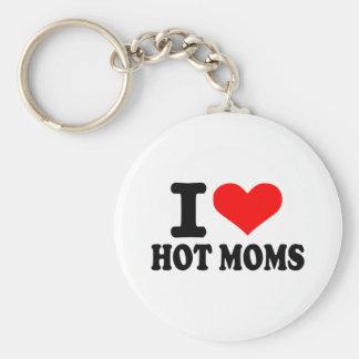 Amo a mamáes calientes llavero