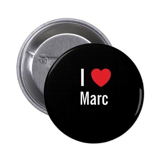 Amo a Marc Pin Redondo De 2 Pulgadas