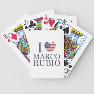 Amo a Marco Rubio Baraja Cartas De Poker