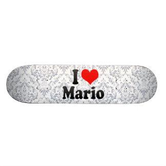 Amo a Mario Patin Personalizado