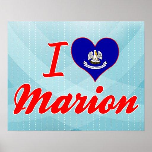Amo a Marion, Luisiana Póster
