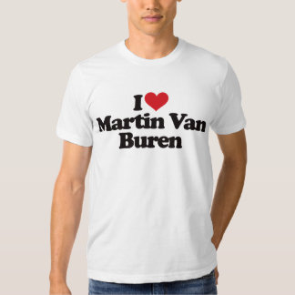 Amo a Martin Van Buren Remera