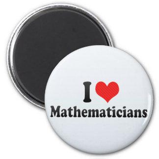 Amo a matemáticos imán