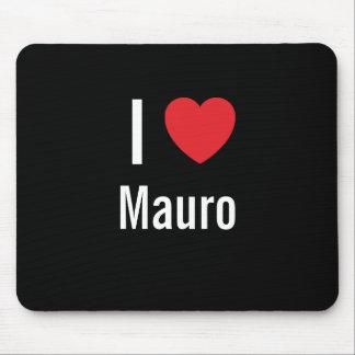 Amo a Mauro Mousepads