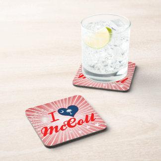 Amo a McColl, Carolina del Sur Posavasos De Bebida