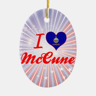 Amo a McCune Kansas Adorno
