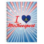 Amo a McKeesport, Pennsylvania Libretas