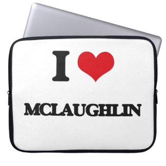 Amo a Mclaughlin Mangas Portátiles