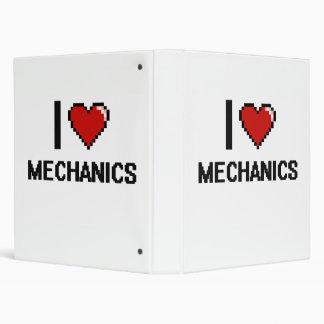 Amo a mecánicos carpeta 2,5 cm