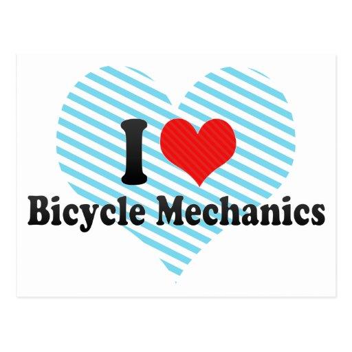 Amo a mecánicos de la bicicleta postal