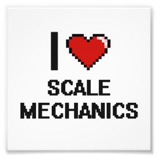 Amo a mecánicos de la escala fotografía