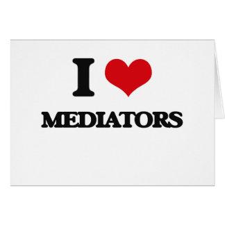 Amo a mediadores felicitación