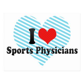 Amo a médicos de los deportes postales