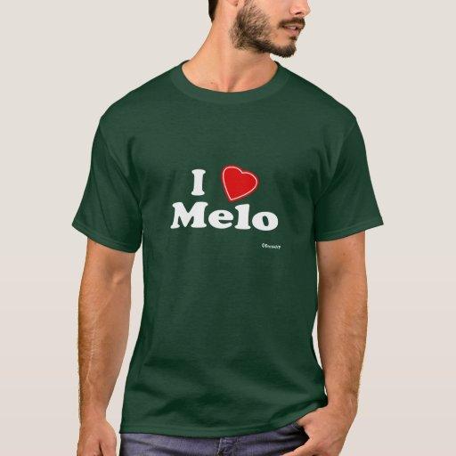 Amo a Melo Playera