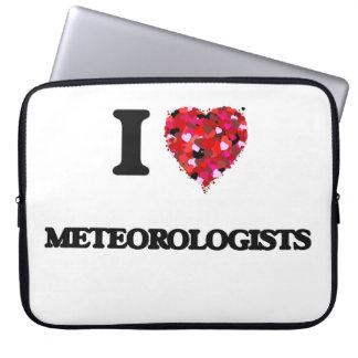 Amo a meteorólogos manga portátil