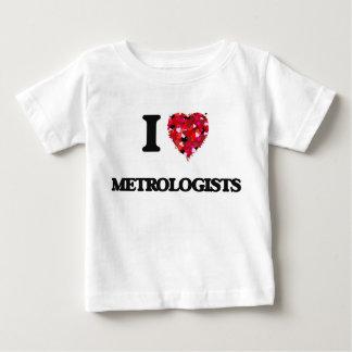 Amo a metrólogos playeras
