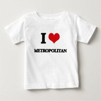 Amo a metropolitano camisas