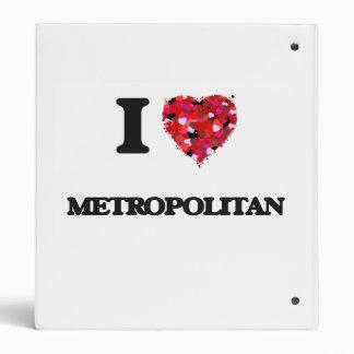 """Amo a metropolitano carpeta 1"""""""